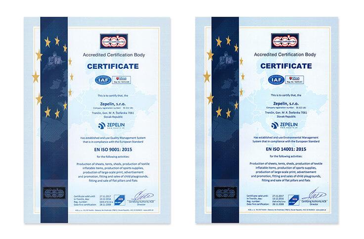 iso certificate holder